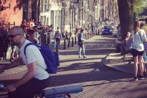 World's (somehow don't) collide at Brouwersgracht