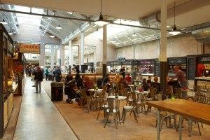 The food halls at De Hallen