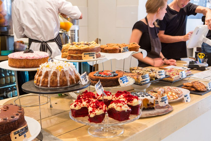 Cakes aplenty at Bakers & Roasters, Amsterdam