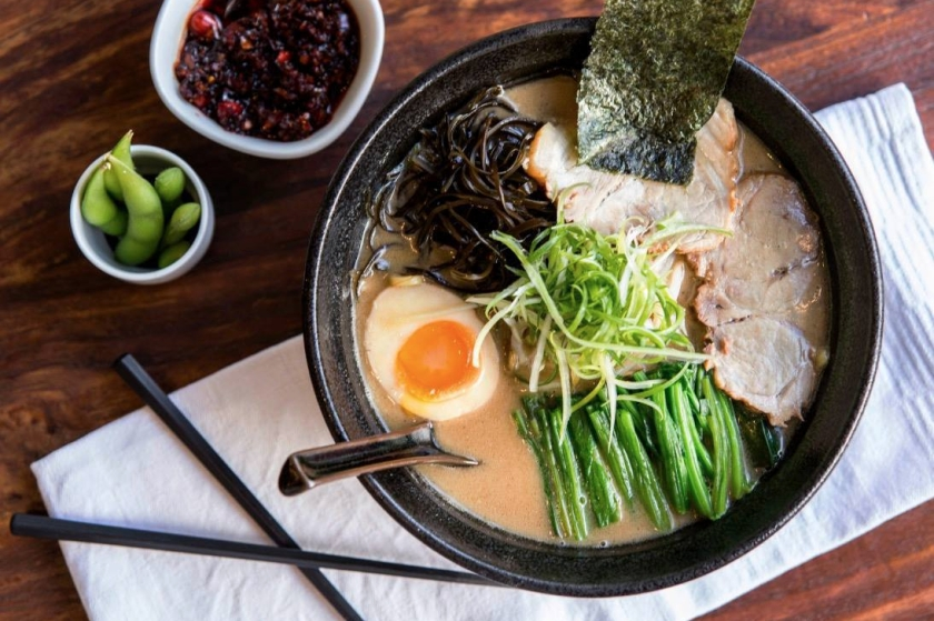 Soul food, ramen bowls at Fou Fow