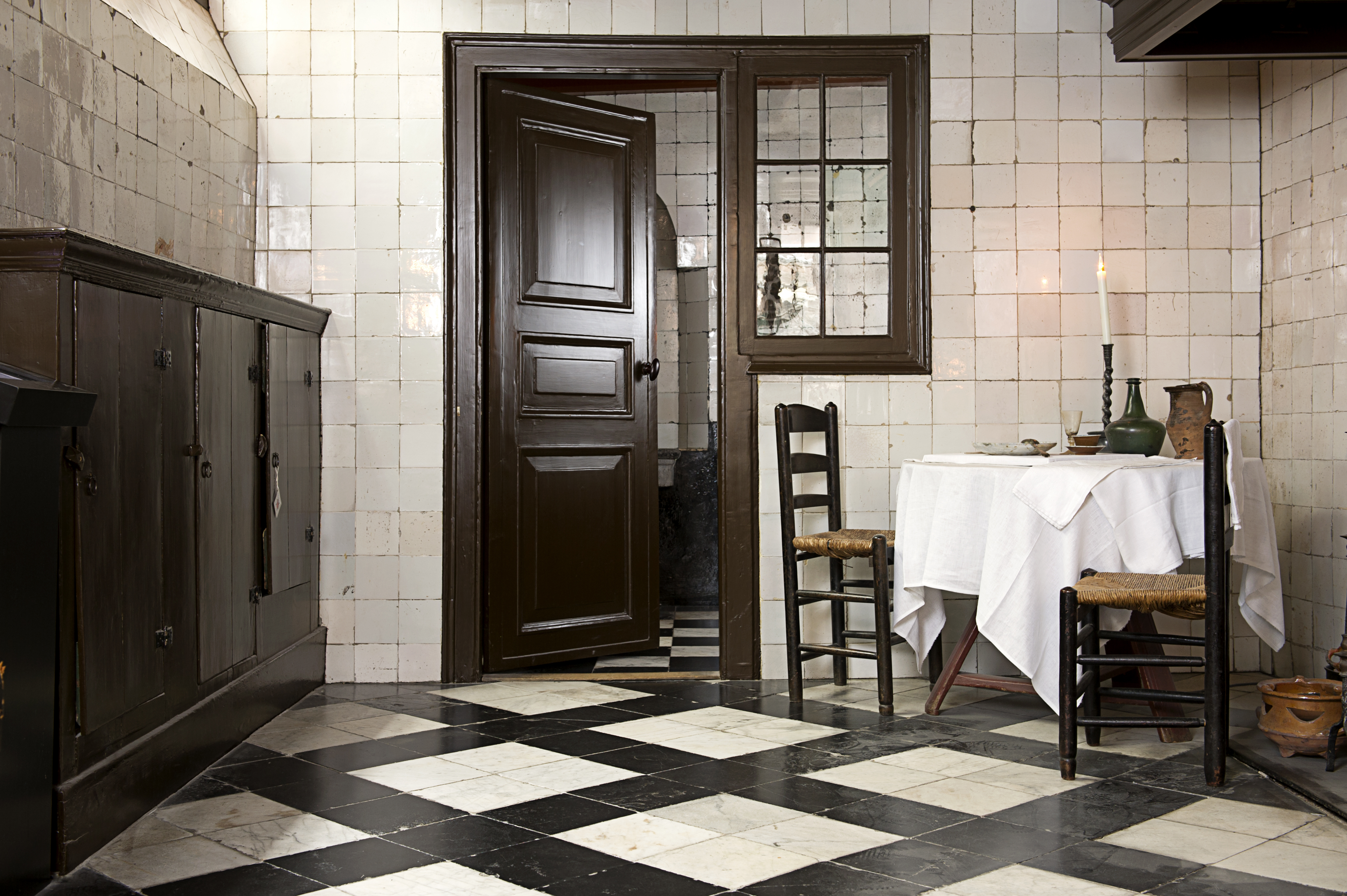 The Priest's kitchen at Our Lord in the Attic / Ons' Lieve Heer op Solder.